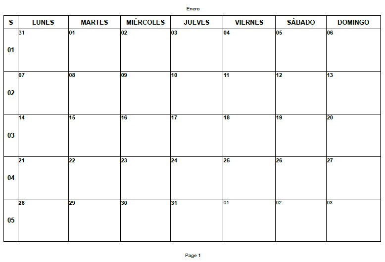 #Venusiana4 (Calendarios)